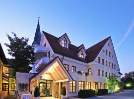 Hotel Restaurant Adler, Waldhausen (Lauchheim yakınında)