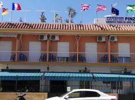 Pension Pinzapa, Chipiona (Costa de Sanlúcar yakınında)