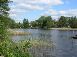 Ferienwohnung Ferchesar, Stechow (Wassersuppe yakınında)