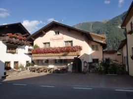 Hotel Chavalatsch, Tubre