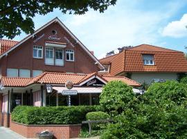 Hotel Central, Zeven (Weertzen yakınında)