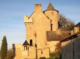 Chambres d'Hôtes Au Château, Lunac (рядом с городом Bor-et-Bar)