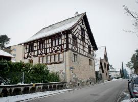 250 year Old Swiss Wine Farm House, Rüschlikon (Küsnacht yakınında)