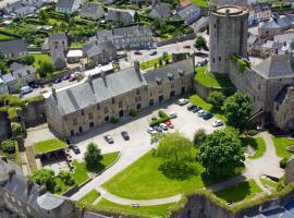 Le Château de Bricquebec, Bricquebec (рядом с городом Le Vrétot)
