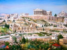 Acropolis Area Cozy Apartment