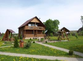 RespectHouse on Myadel, Naroch' (Novoselki-Pervyye yakınında)