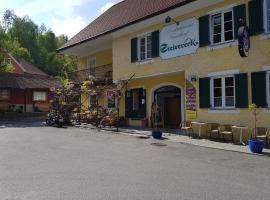 Gasthof Restaurant Steirereck'n, Schwanberg (Sankt Peter im Sulmtal yakınında)