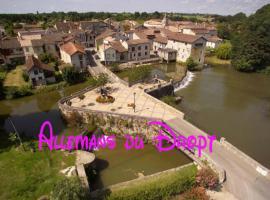 La Grande Maison, Allemans-du-Dropt (рядом с городом Monteton)