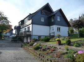 Pension Haus Linden, Winterberg (Altastenberg yakınında)
