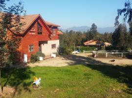 Casa de Campo Paihuen, Zapallar (Petorca yakınında)