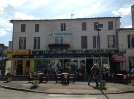 Hotel Thermalia, Saujon (рядом с городом Saint-Romain-de-Benet)