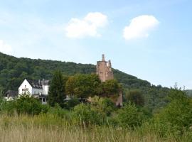 Hotel-Restaurant Burg-Ramstein, Kordel (Newel yakınında)