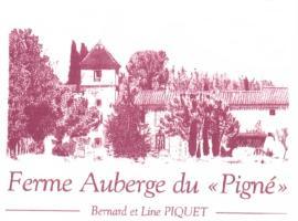 Ferme auberge du Pigné, Bram (рядом с городом Villesiscle)
