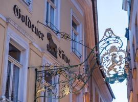 Hotel Goldener Löwe, Meissen