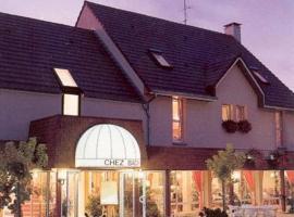 Logis Chez Bach, Chaussin (рядом с городом Annoire)