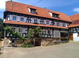 GÎte rue de l'Ange, Hunspach (рядом с городом Salmbach)
