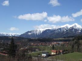 Ferienwohnung Panoramablick, Trofaiach (Vordernberg yakınında)