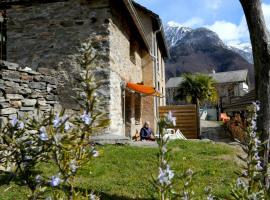 Casa Dosc, Verdabbio (Near Calanca Valley)