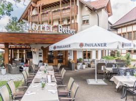 Hotel & Restaurant Becher, Donzdorf (Steinenkirch yakınında)