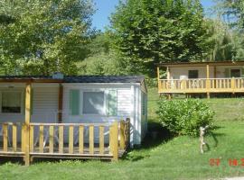 Camping Parc de Palétès, Saint-Girons (рядом с городом Rivèrenert)