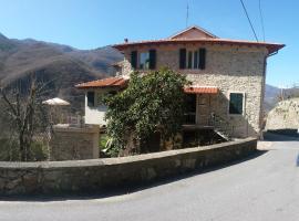 A Cà Du Barbijum, Pieve di Teco (Moano yakınında)
