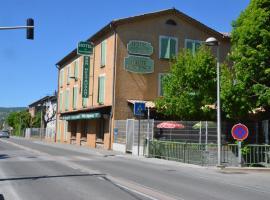 Hotel de la Haute Provence, Mallemoisson (рядом с городом Beynes)