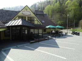 Gasthof Hotel zum Wasserfall, Oberndorf (Beffendorf yakınında)