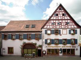 Landgasthaus zum Hecht, Bahlingen (Riegel yakınında)