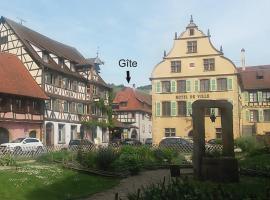 "Gîte ""Le cosy"", Turckheim"