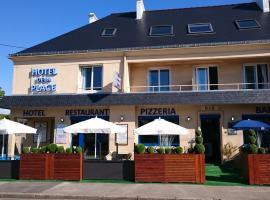 Hotel de la Plage, Quinéville (рядом с городом Saint-Floxel)