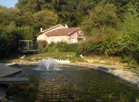 Le Jardin Ombragé, Saint-Paul-d'Izeaux (рядом с городом Tullins)