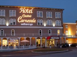 Casino Hotel Carnevale Wellness & Spa, Zgornje Škofije (in de buurt van Ankarano)