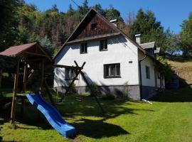 Fraňova chalupa, Rychlebské hory, Horní Hoštice (Javorník yakınında)