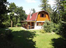Holiday House Vranov Dam, Oslnovice (Uherčice yakınında)