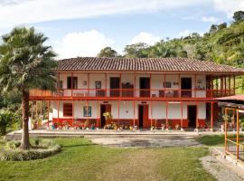 Finca Hostel El Balcón, Buenavista (Pijao yakınında)