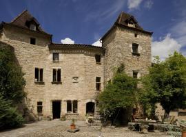 Château de Saint Cirq Lapopie, Saint-Cirq-Lapopie (рядом с городом Бузи)