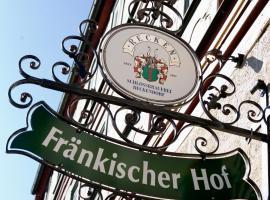 Fränkischer Hof, Hofheim in Unterfranken (Kimmelsbach yakınında)