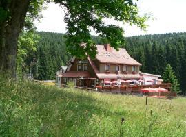 Gasthof Café Kanzlersgrund, Oberschönau