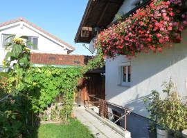 Ferienwohnung Alpenblick, Ainring