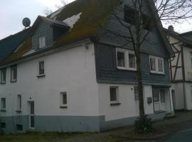 Ferien-/Monteurwohnung Olbrich, Hilchenbach (Brachthausen yakınında)