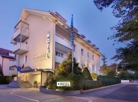 Hotel Kriemhild am Hirschgarten, Münih (Laim yakınında)