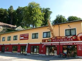 Wohnen beim Bäcker Weinberger, Ybbs an der Donau (Kemmelbach yakınında)