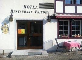 Hotel - Restaurant Frieden, Kemptthal (Weisslingen yakınında)