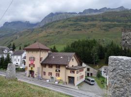Sust Lodge am Gotthard, Hospental