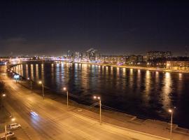 Evrodvushka with Neva View