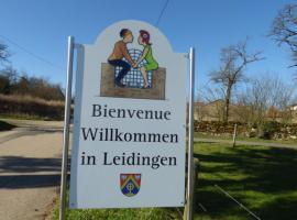 """Gite """"Vue Sur La Frontiere"""", Heining-lès-Bouzonville (рядом с городом Menskirch)"""