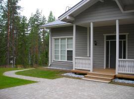 Raikuu holiday houses, Paasiniemi (рядом с городом Kokkoniemi)