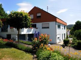 Buchbergblick Haus Rumpel, Sigmaringen (Inzigkofen yakınında)
