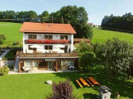 Apartment Bayerwald 3, Breitenberg (Sonnen yakınında)