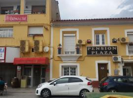 Pension Plaza, Кинто (рядом с городом Ла-Альмольда)